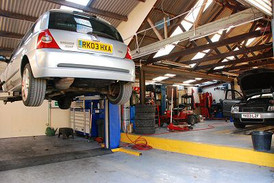 Inside the main workshop are at PJN Motor Engineering Ltd
